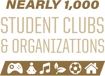 Nearly 1000 student clubs and organizations