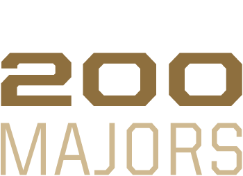 Over 200 majors