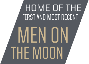 Home of first and most recent men on the moon