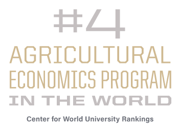 #4 Agricultural Economics program in the world