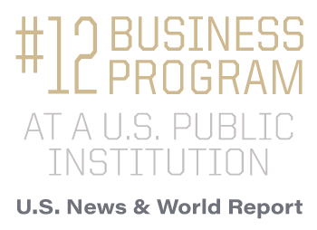 #12 Business program at a U.S. public institution
