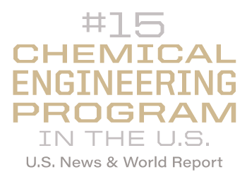 #14 Chemical Engineering program in the U.S.