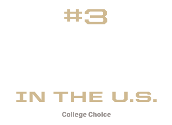 #3 Construction Management Technology program in the U.S.