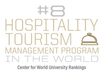 #8 Hospitality Tourism Management program in the world