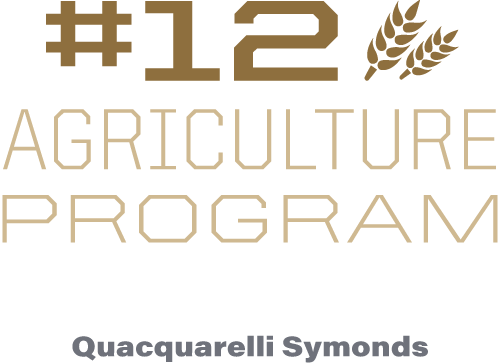 #12 agriculture program in the world