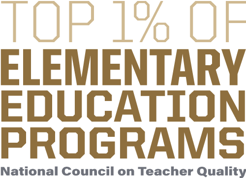 Top 1% of elementary education programs