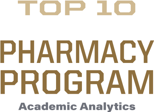 Top 10 research producing pharmacy program